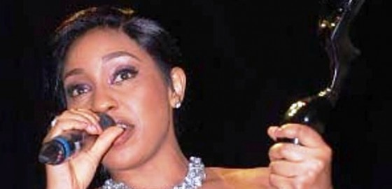 Rita Dominic Wins the Best Actress Award at 2012 AMAA
