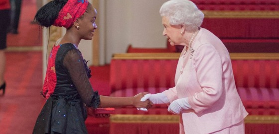 Warwick Law School student Nkechikwu Azinge, Received Queen's Young Leader Award.