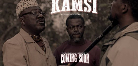 "Mad Director Uzodinma Okpechi goes to the Cinemas with ""KAMSI"" The Movie"