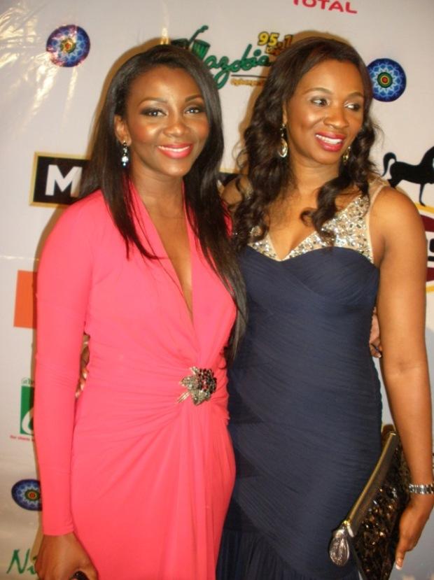 Genevieve Nnaji and Chioma Ude 2011